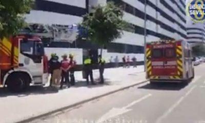 AionSur incendio-400x240 Joven afectado por inhalación de humos al intentar apagar un incendio en su vivienda de Sevilla Sevilla Sucesos