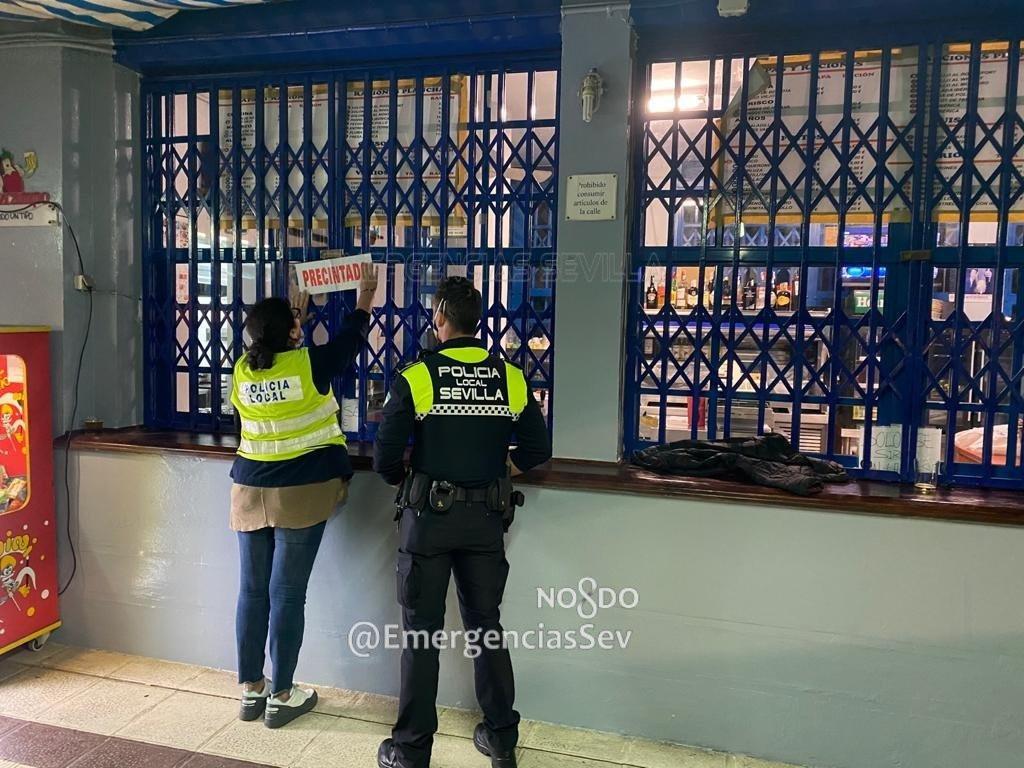 AionSur policia-sevilla-4 Los hosteleros sevillanos se quejan de exceso de vigilancia por la Policía Coronavirus Sevilla