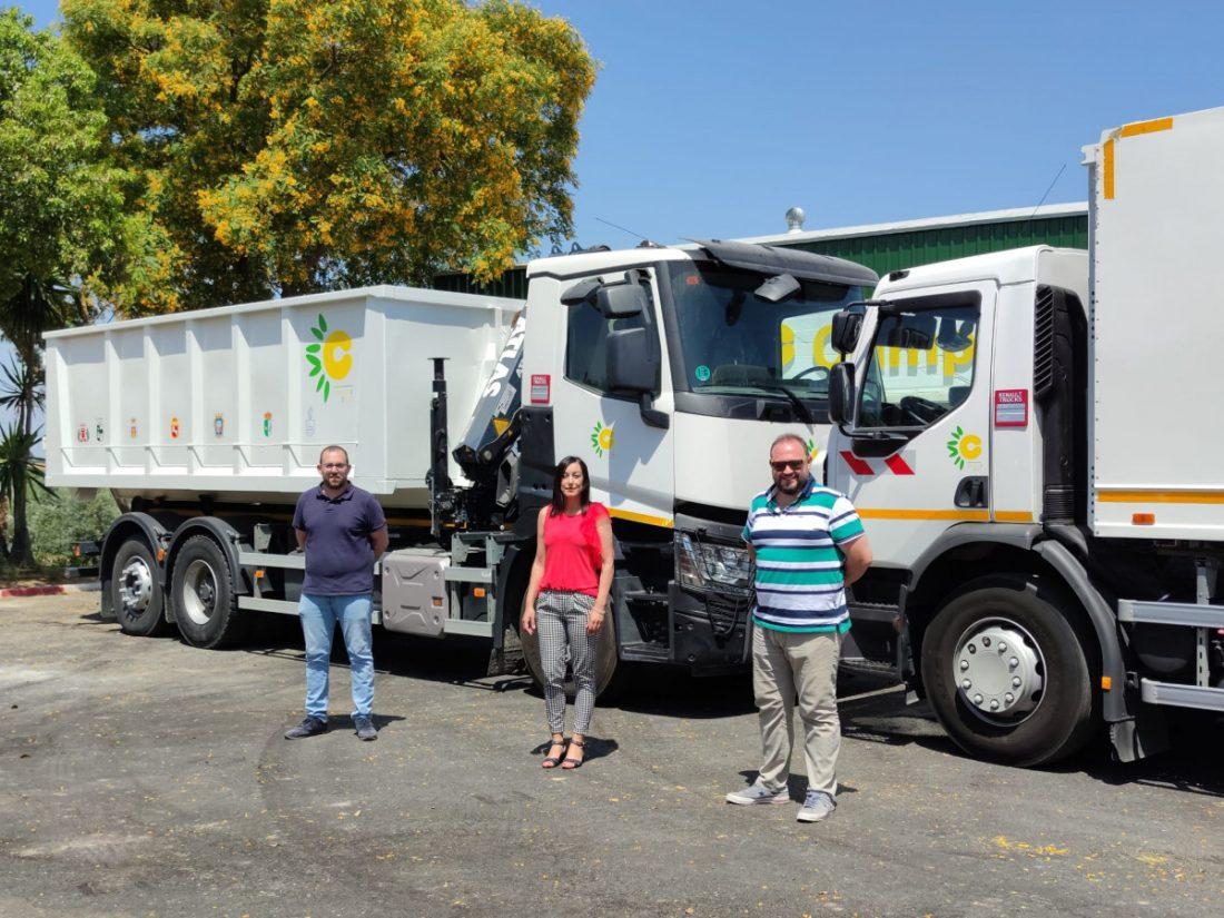 AionSur 94c32db6-face-4b64-aae4-f595f59ccb80-min Dos nuevos camiones de recogida de material reciclado se incorporan al servicio de la Mancomunidad Campiña 2000 Campiña Morón y Marchena destacado