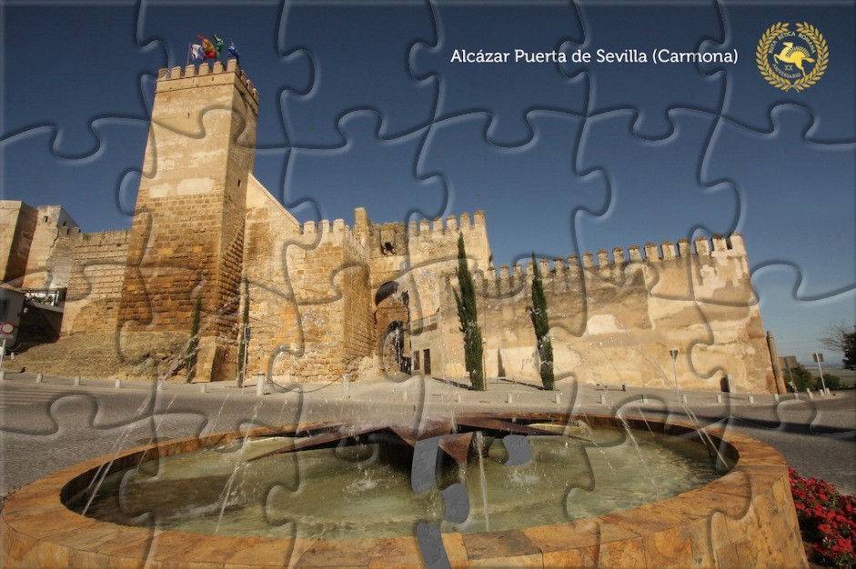 AionSur Alcazar-Sevilla-puzzle Los pueblos de la Ruta Bética ofrecen su patrimonio en forma de puzzles Andalucía Coronavirus Sociedad
