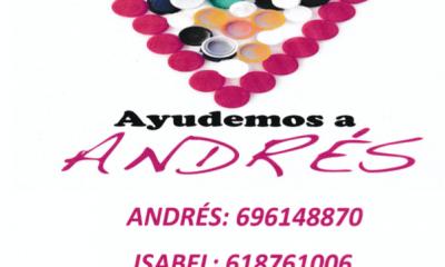 AionSur Andres-tapones-400x240 No tires los tapones de plástico, Andrés los necesita Almería Salud Sevilla destacado
