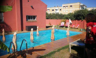 AionSur Natacion-sincronizada-400x240 Un equipo de natación sincronizada entrena en una piscina de Tomares por falta de instalaciones Aljarafe Coronavirus Deportes