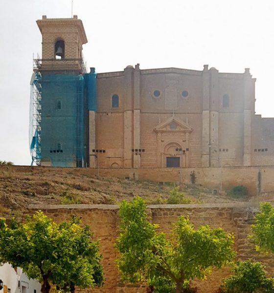 AionSur RESTAURACION-TORRE-COLEGIATA-560x600 Finalizan las obras de restauración de la torre de la Colegiata de Osuna Osuna