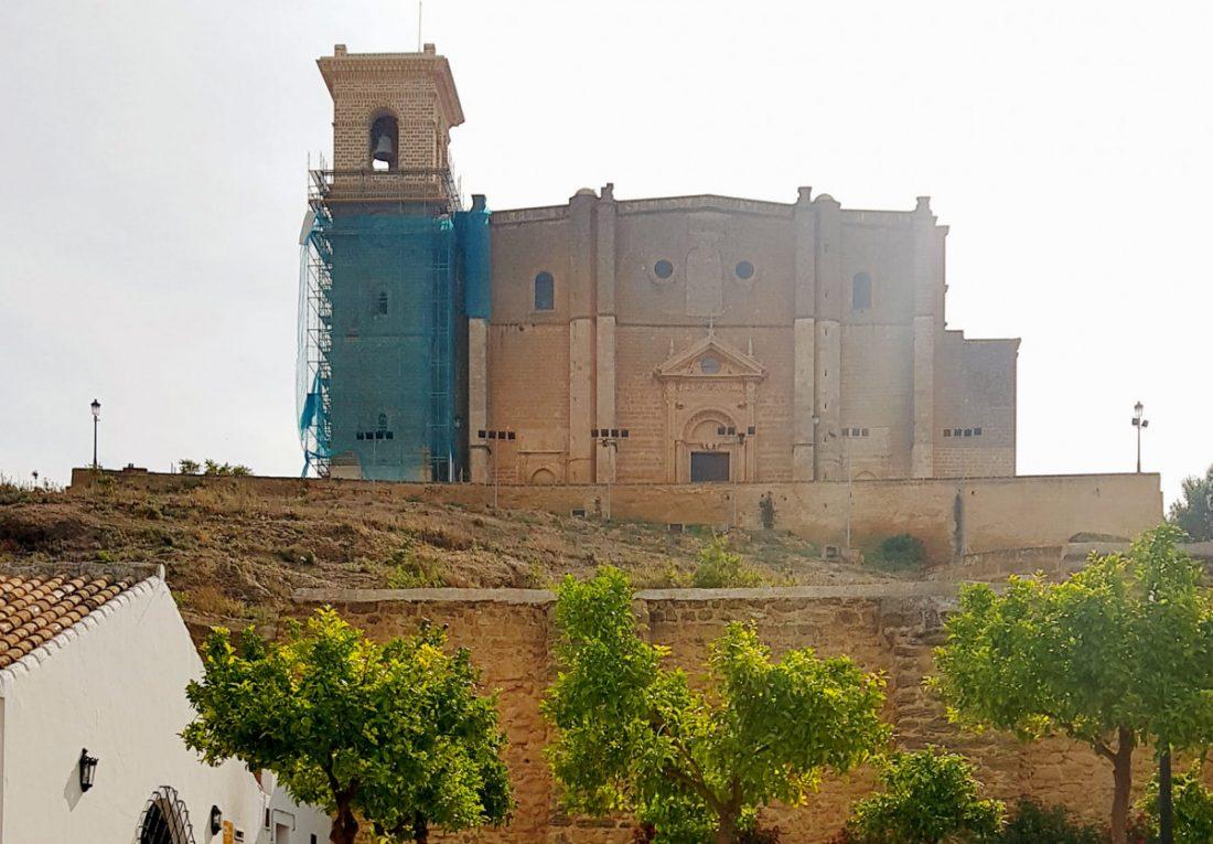 AionSur RESTAURACION-TORRE-COLEGIATA Finalizan las obras de restauración de la torre de la Colegiata de Osuna Osuna