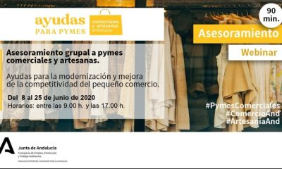AionSur cade-min-400x240 Andalucía Emprende organiza una conferencia web para informar a los empresarios sobre ayudas de la Junta Formación y Empleo