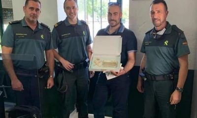 AionSur canelo-placa-400x240 La Guardia Civil agradece a un empresario que no les faltase un bocadillo Coronavirus Gerena Sociedad