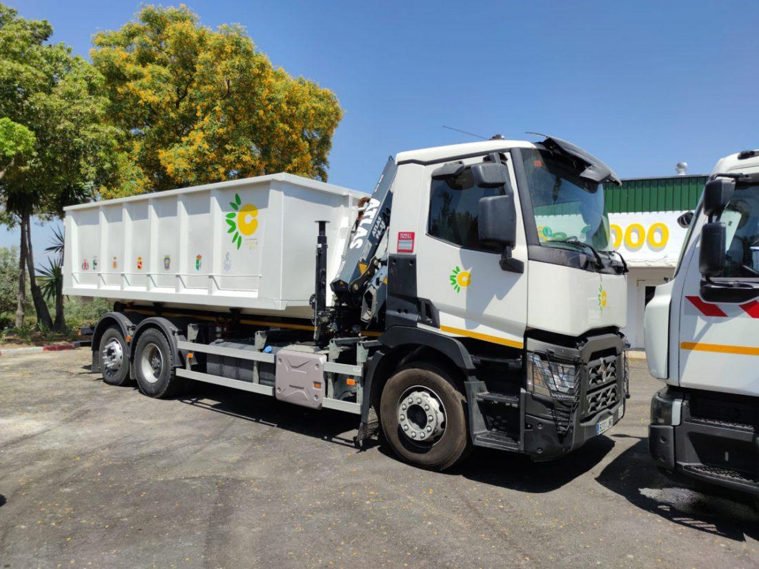 AionSur d2825d11-b053-4008-b578-fe58758de97a-min Dos nuevos camiones de recogida de material reciclado se incorporan al servicio de la Mancomunidad Campiña 2000 Campiña Morón y Marchena destacado