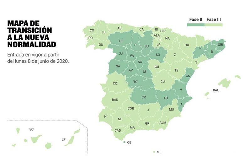 AionSur desescalada Los andaluces podrán moverse entre las ocho provincias libremente desde el lunes Andalucía Coronavirus destacado