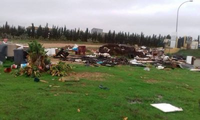 AionSur gerena-residuos-400x240 Denunciados en Gerena por tirar objetos fuera del Punto Limpio Gerena Sociedad