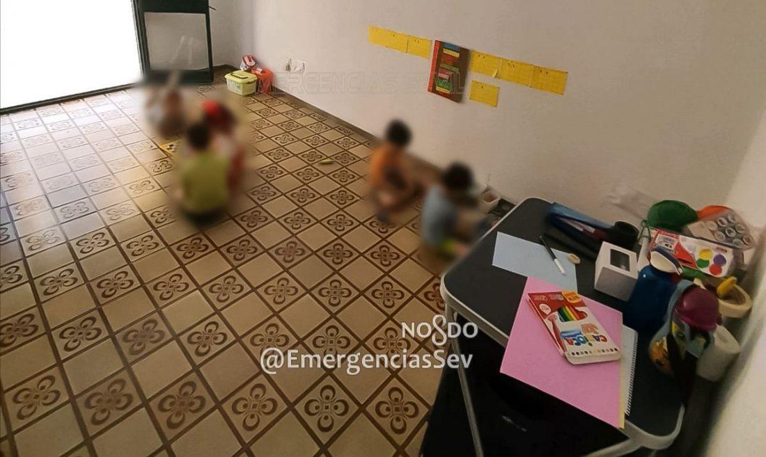AionSur guarderia-ilegal-2 Descubren una guardería clandestina en Sevilla en la que había 12 niños Coronavirus Sevilla Sucesos