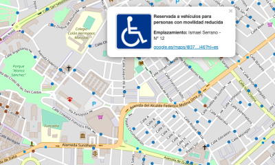 AionSur movilidad-reducida-400x240 Una web lanzada en Huelva permite localizar los aparcamientos de movilidad reducida Huelva Sociedad