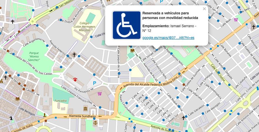 AionSur: Noticias de Sevilla, sus Comarcas y Andalucía movilidad-reducida Una web lanzada en Huelva permite localizar los aparcamientos de movilidad reducida Huelva Sociedad