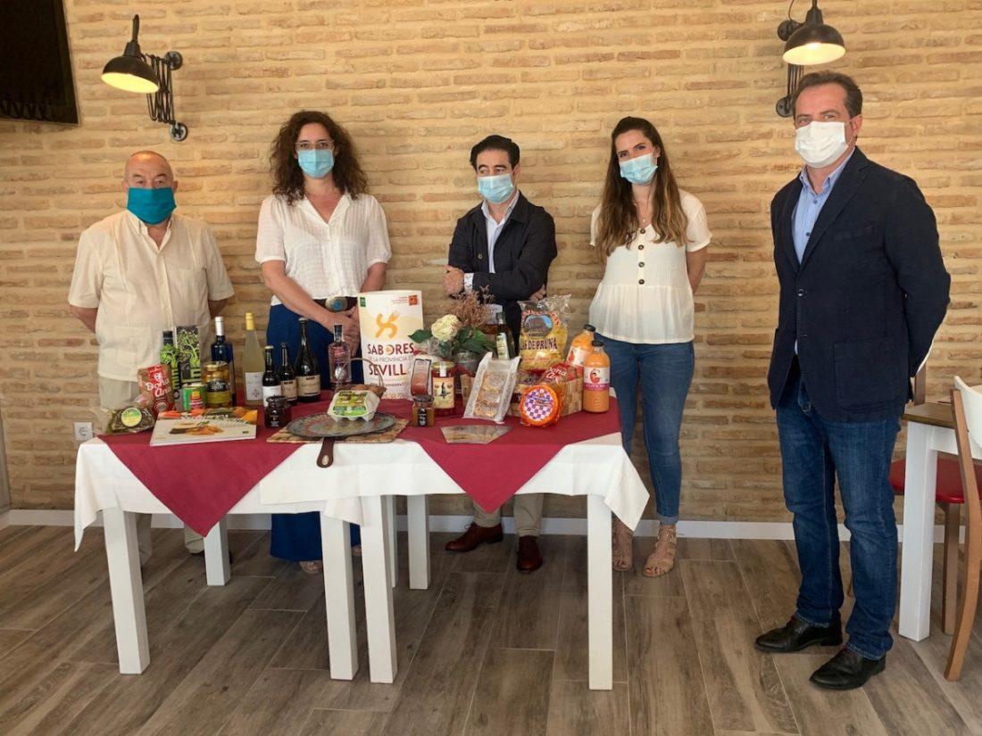 AionSur prodetur-sabores Los 'Sabores de la Provincia de Sevilla' salen a la calle a luchar unidos contra la crisis Diputación Prodetur Provincia destacado
