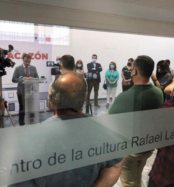 AionSur Benacazon-centro-1-560x600 El pintor Rafael Laureano ya tiene un centro cultural con su nombre Benacazón