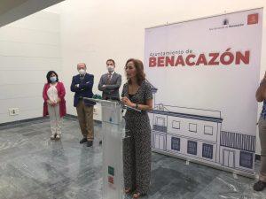 AionSur Benacazon-centro-3-300x225 El pintor Rafael Laureano ya tiene un centro cultural con su nombre Benacazón