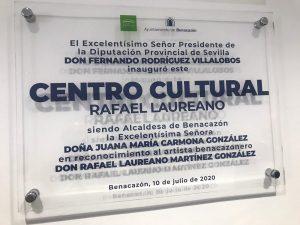 AionSur Benacazon-centro-4-300x225 El pintor Rafael Laureano ya tiene un centro cultural con su nombre Benacazón