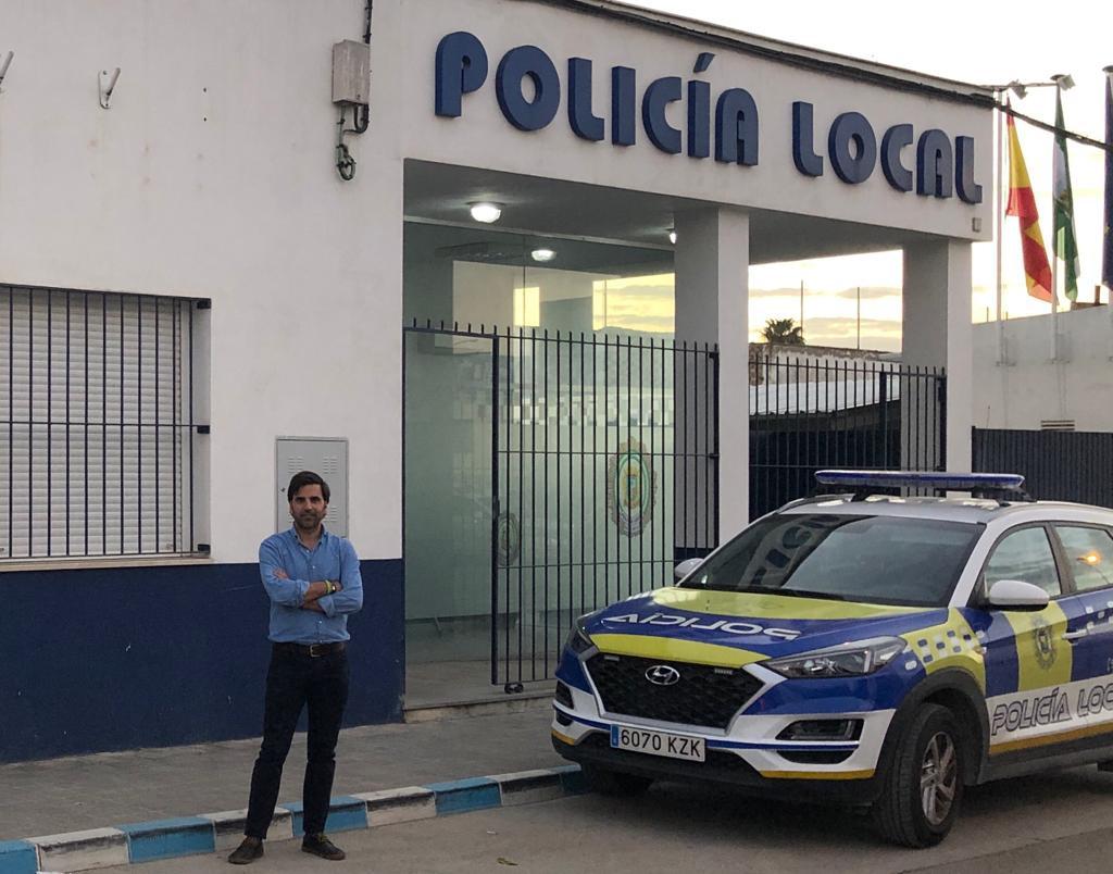 AionSur Jose-Carlos-Delgado-min VOX Marchena, sin representación municipal, entra en el debate de la situación laboral Policía Local Marchena destacado