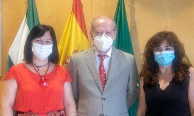 AionSur Marchena-alcaldesa-400x240 La Diputación reafirma su compromiso con la residencia de mayores que gestiona en Marchena Diputación Marchena