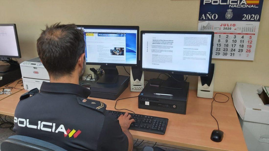 AionSur Policia-Sevilla Detenido tras escuchar dos policías cómo agredía a su pareja Sevilla Sucesos Violencia Machista