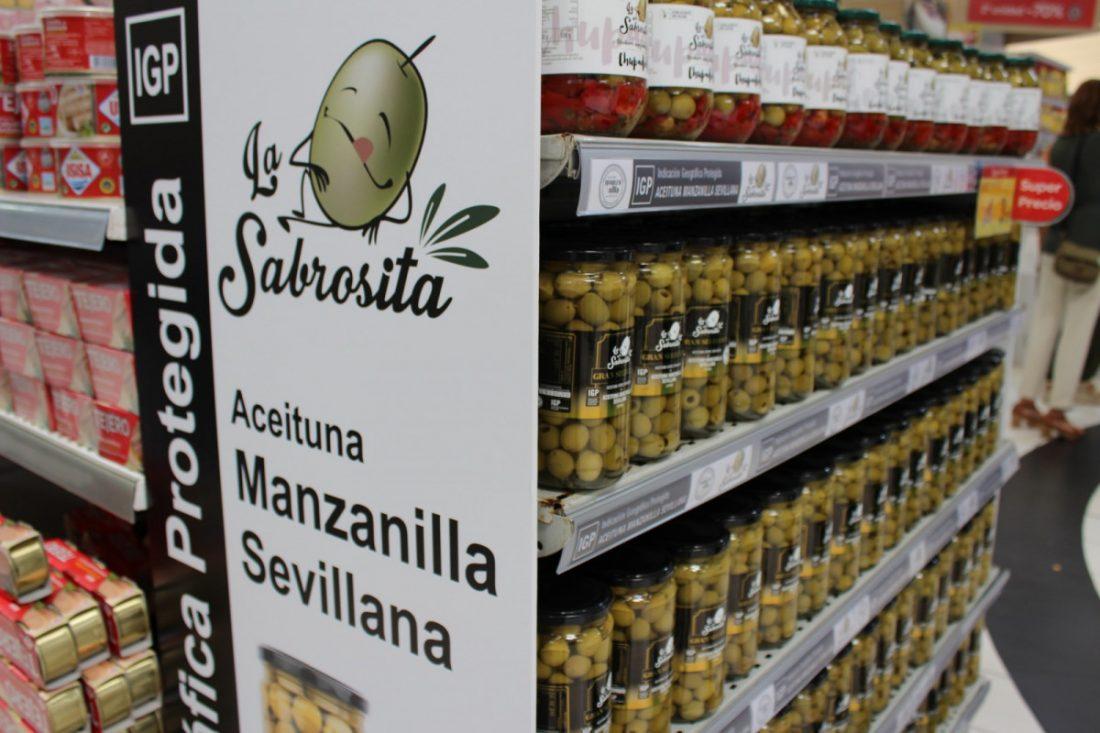 AionSur aceitunas Llegan a las tiendas las aceitunas Manzanilla y Gordal de Sevilla amparadas en su IGP Economía Sevilla