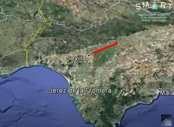 AionSur bola-fuego Una bola de fuego cruza el cielo de Sevilla a 69.000 kilómetros por hora Sevilla Sucesos destacado