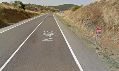 AionSur carretera-400x240 Muere un joven de 29 años en un accidente de moto en Cumbres Mayores (Huelva) Huelva Sucesos destacado