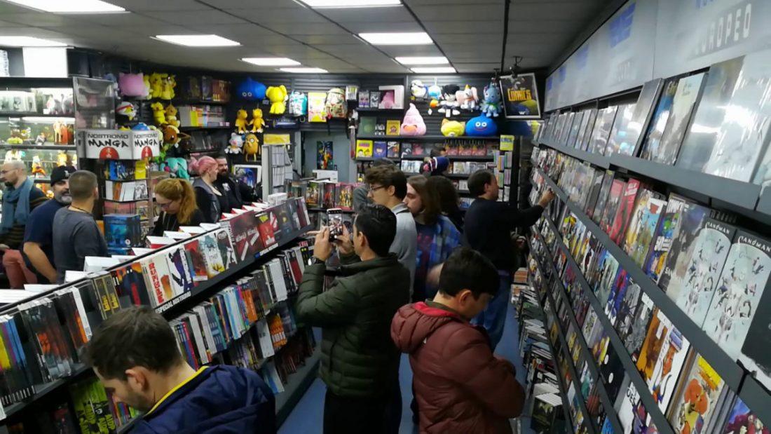 AionSur comic-nostromo La sevillana Nostromo opta de nuevo a ser la mejor tienda de cómics del mundo Cultura Sevilla