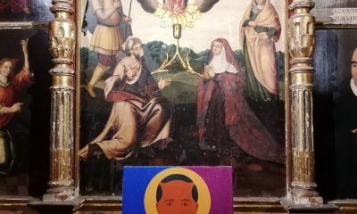AionSur: Noticias de Sevilla, sus Comarcas y Andalucía expo-iglesia-carmona-2-400x240 Arte del siglo XXI en la inmensidad de un templo Carmona Cultura