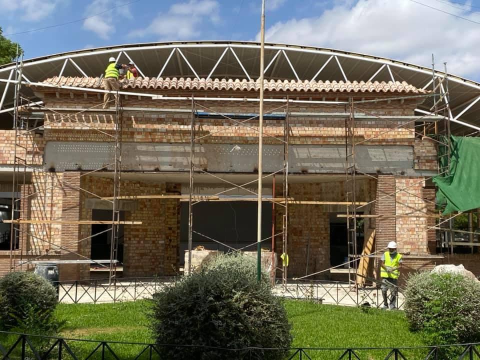 AionSur: Noticias de Sevilla, sus Comarcas y Andalucía herrera-obras En marcha varias obras de distintas áreas del Ayuntamiento de Herrera Herrera
