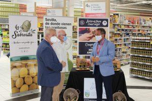 AionSur igo-aceitunas-2-300x200 Llegan a las tiendas las aceitunas Manzanilla y Gordal de Sevilla amparadas en su IGP Economía Sevilla