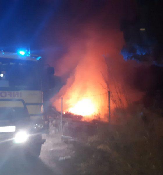AionSur incendio-coripe-560x600 Sofocado un incendio en el punto limpio de Coripe Coripe Incendios Sucesos destacado