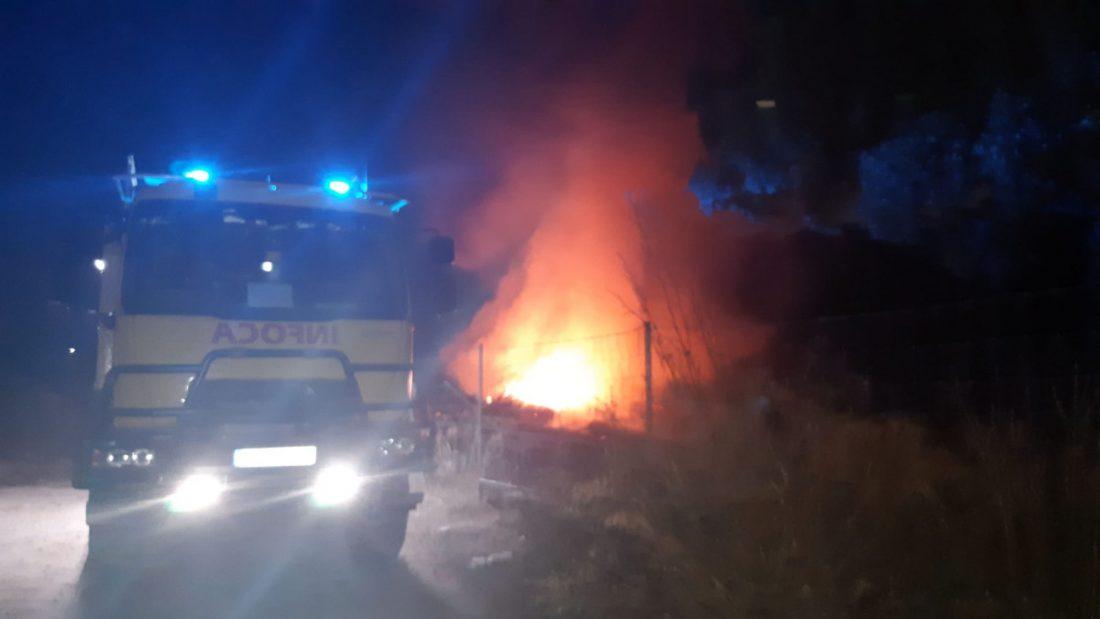 AionSur incendio-coripe Sofocado un incendio en el punto limpio de Coripe Coripe Incendios Sucesos destacado