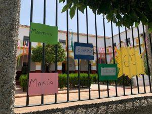 AionSur marchena-colegio-300x225 Una cinta por cada alumno del colegio Padre Marchena Educación Marchena