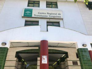 AionSur sangre-centro-1-300x225 Manolo Marín, toda una vida dedicada a que no falte sangre en los hospitales Provincia Salud Sevilla destacado
