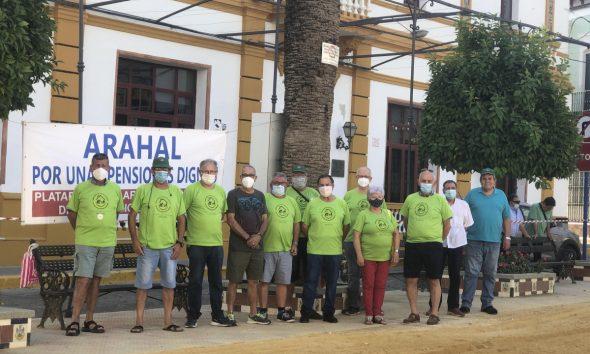 AionSur unnamed-min-590x354 Lunes de reivindicación de la Plataforma por Pensiones Dignas de Arahal Arahal destacado