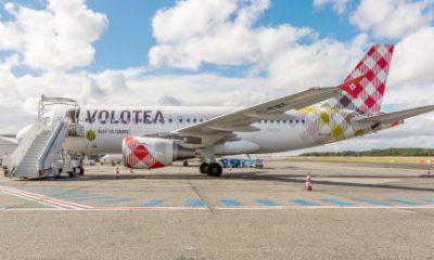 AionSur volotea-400x240 Sevilla estrena un vuelo directo dos veces a la semana con Menorca Economía Málaga Sevilla