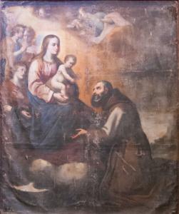 AionSur Aparicion-de-la-virgen-y-nino-a-san-francisco-de-asis-251x300 Murillo y Marchena, una relación con mucho arte Cultura Marchena