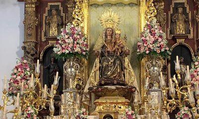 AionSur Bella-altar-400x240 El histórico traslado de La Bella de cada 7 de agosto se hace sin público Huelva Sociedad