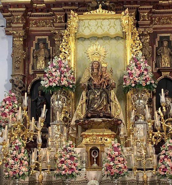 AionSur Bella-altar-560x600 El histórico traslado de La Bella de cada 7 de agosto se hace sin público Huelva Sociedad
