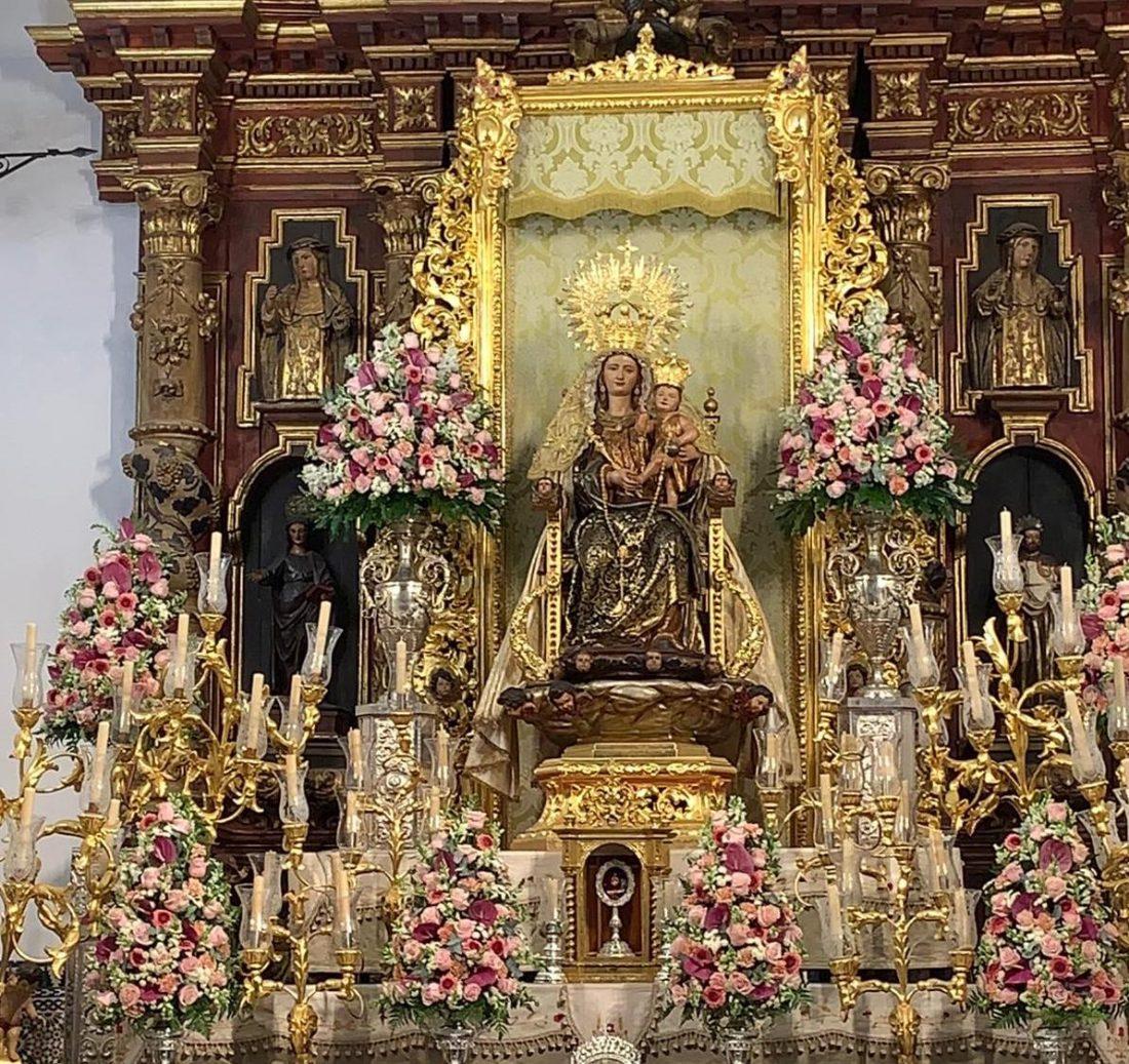 AionSur Bella-altar El histórico traslado de La Bella de cada 7 de agosto se hace sin público Huelva Sociedad