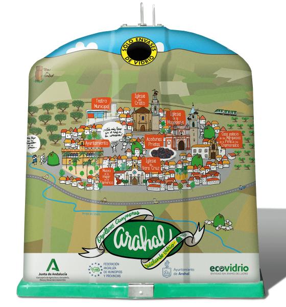 AionSur EV_Arahal_Iglu-min-560x600 Triple premio a Arahal por aumentar sus cifras de reciclaje de vidrios Arahal destacado