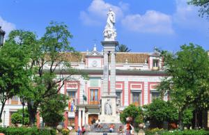 AionSur Inmaculada-monumento-300x194 Murillo y Marchena, una relación con mucho arte Cultura Marchena