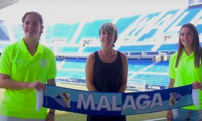 AionSur Malaga-jugadoras-400x240 La paradeña María Cortés y la constantinense Candela Blanco, nuevas jugadoras del Málaga Deportes Fútbol