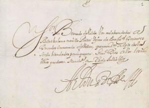 AionSur Murillo-recibo-archivo-historico-nacional-300x218 Murillo y Marchena, una relación con mucho arte Cultura Marchena