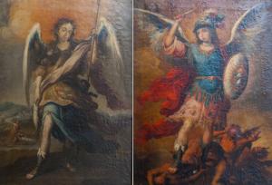 AionSur San-Rafael-y-San-Miguel-manos-privadas-300x204 Murillo y Marchena, una relación con mucho arte Cultura Marchena