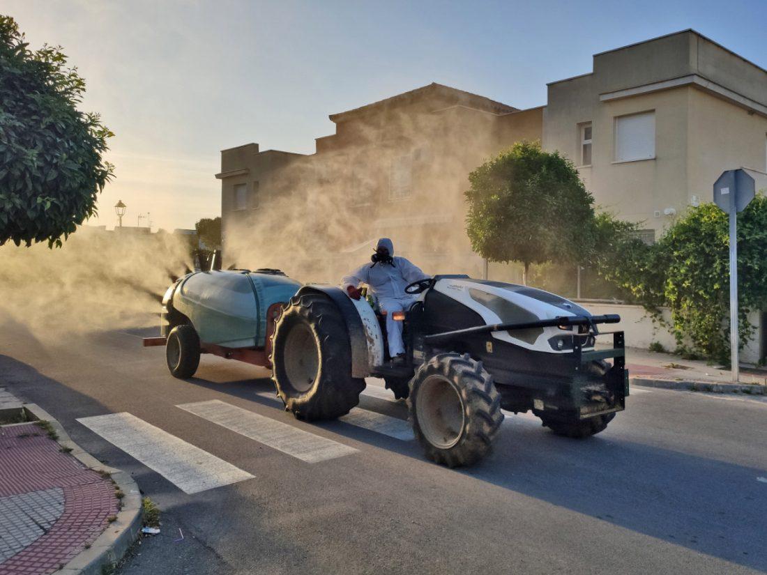 AionSur Tractor-Benacazon Los tractores de Benacazón podrían volver a las calles Coronavirus Provincia