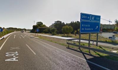AionSur: Noticias de Sevilla, sus Comarcas y Andalucía autopista-A92-400x240 Muere atropellado en la A-92 a la altura de Alcalá de Guadaíra Alcalá de Guadaíra Sucesos