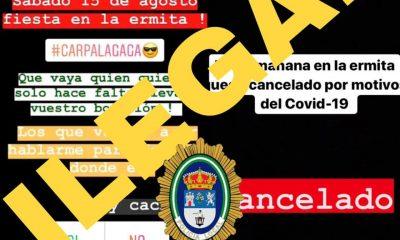 """AionSur botellon-400x240 Denunciado un menor en Lepe que organizó un botellón como """"alternativa"""" a las fiestas patronales Coronavirus Huelva"""