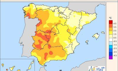 AionSur calor-mapa-400x240 Julio fue el mes más cálido de la serie histórica, tras los de 2015 y 2006 Sociedad