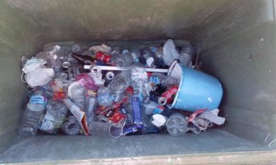 "AionSur coripe-basura-400x240 Decenas de kilos de restos de ""botellonas"" son recogidos en Coripe Coripe"